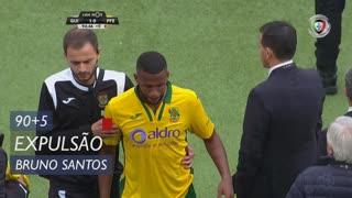 FC P.Ferreira, Expulsão, Bruno Santos aos 90'+5'
