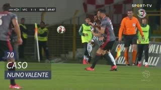 Vitória FC, Caso, Nuno Valente aos 70'