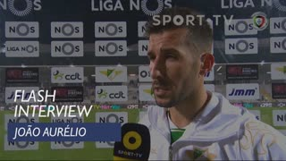 Liga (16ª): Flash Interview João Aurélio