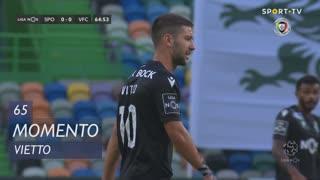 Sporting CP, Jogada, Vietto aos 65'