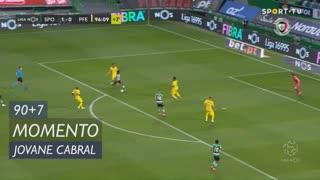 Sporting CP, Jogada, Jovane Cabral aos 90'+7'