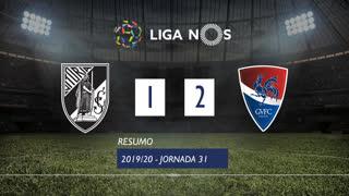Liga NOS (31ªJ): Resumo Vitória SC 1-2 Gil Vicente FC
