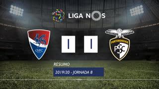 Liga NOS (8ªJ): Resumo Gil Vicente FC 1-1 Portimonense