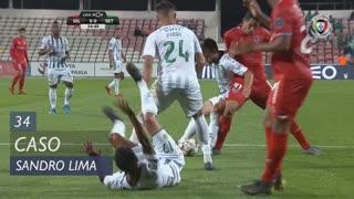 Gil Vicente FC, Caso, Sandro Lima aos 34'