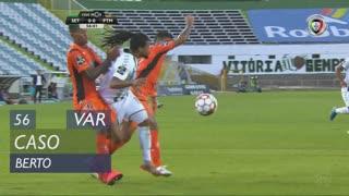 Vitória FC, Caso, Berto aos 56'