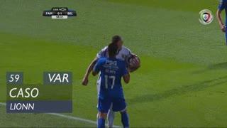 FC Famalicão, Caso, Lionn aos 59'