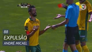 FC P.Ferreira, Expulsão, André Micael aos 88'