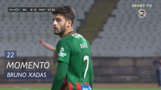 Marítimo M., Jogada, Bruno Xadas aos 22'