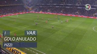 SL Benfica, Golo Anulado, Pizzi aos 1'