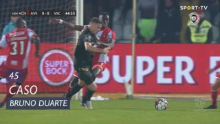 Vitória SC, Caso, Bruno Duarte aos 45'