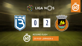 I Liga (6ªJ): Resumo Flash Belenenses 0-2 Rio Ave FC