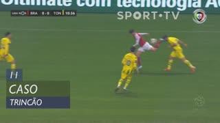 SC Braga, Caso, Trincão aos 11'