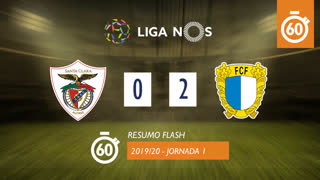 I Liga (1ªJ): Resumo Flash Santa Clara 0-2 FC Famalicão