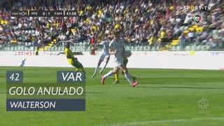 FC Famalicão, Golo Anulado, Walterson aos 42'