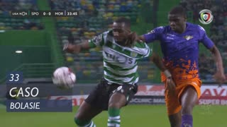 Sporting CP, Caso, Bolasie aos 33'