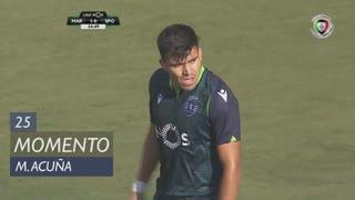 Sporting CP, Jogada, M. Acuña aos 25'