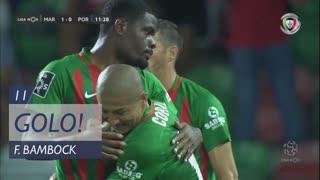 GOLO! Marítimo M., F. Bambock aos 11', Marítimo M. 1-0 FC Porto