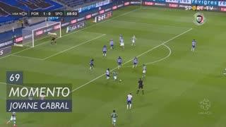 Sporting CP, Jogada, Jovane Cabral aos 69'