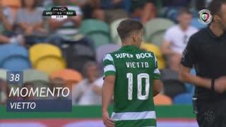 Sporting CP, Jogada, Vietto aos 38'