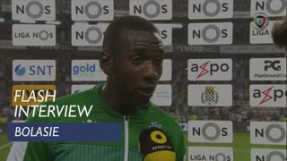 Liga (5ª): Flash Interview Bolasie