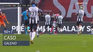 SC Braga, Caso, Galeno aos 90'+1'