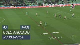 Rio Ave FC, Golo Anulado, Nuno Santos aos 45'