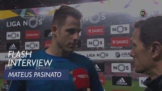 Liga (23ª): Flash Interview Mateus Pasinato