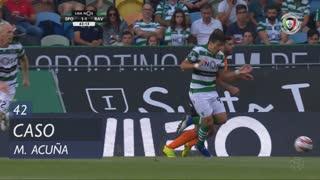 Sporting CP, Caso, M. Acuña aos 42'