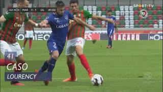 Gil Vicente FC, Caso, Lourency aos 41'