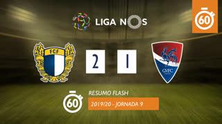 Liga NOS (9ªJ): Resumo Flash FC Famalicão 2-1 Gil Vicente FC