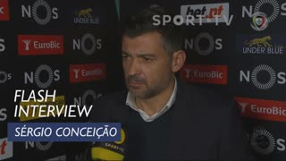 Liga (16ª): Flash Interview Sérgio Conceição