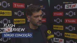 Liga (22ª): Flash Interview Sérgio Conceição