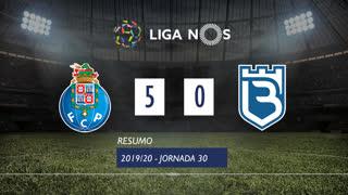 Liga NOS (30ªJ): Resumo FC Porto 5-0 Belenenses SAD
