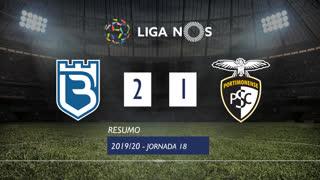 Liga NOS (18ªJ): Resumo Belenenses 2-1 Portimonense