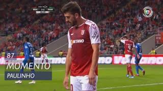 SC Braga, Jogada, Paulinho aos 87'