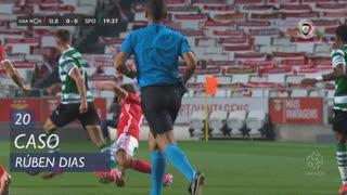 SL Benfica, Caso, Rúben Dias aos 20'