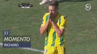 CD Tondela, Jogada, Richard aos 51'