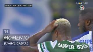 Sporting CP, Jogada, Jovane Cabral aos 34'
