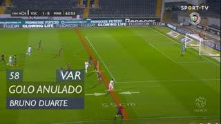 Vitória SC, Golo Anulado, Bruno Duarte aos 58'
