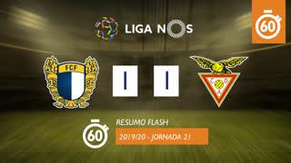 Liga NOS (21ªJ): Resumo Flash FC Famalicão 1-1 CD Aves