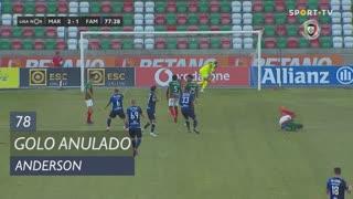 FC Famalicão, Golo Anulado, Anderson aos 78'