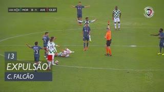 CD Aves, Expulsão, Claudio Falcão aos 13'