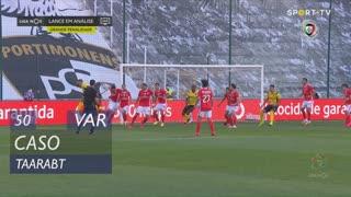 SL Benfica, Caso, Taarabt aos 50'