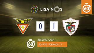 Liga NOS (15ªJ): Resumo Flash CD Aves 0-1 Santa Clara