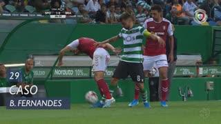 Sporting CP, Caso, Bruno Fernandes aos 29'