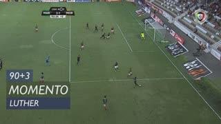 Moreirense FC, Jogada, Luther aos 90'+3'