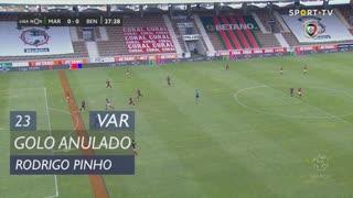 Marítimo M., Golo Anulado, Rodrigo Pinho aos 23'
