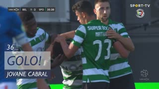 GOLO! Sporting CP, Jovane Cabral aos 36', Belenenses 1-2 Sporting CP