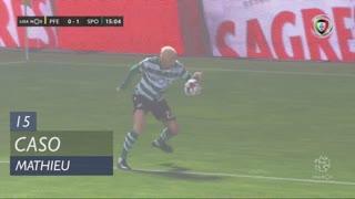 Sporting CP, Caso, J. Mathieu aos 15'