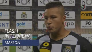 Liga (5ª): Flash Interview Marlon